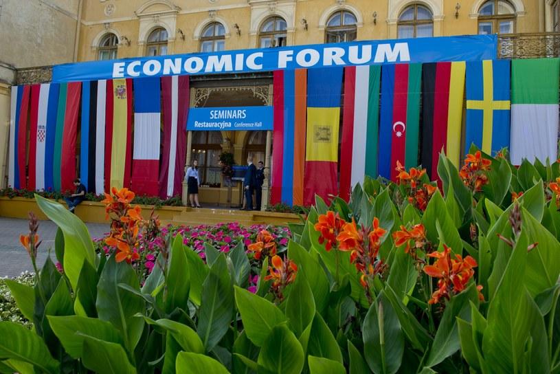 Forum Ekonomiczne w Krynicy /Piotr Tracz /Reporter