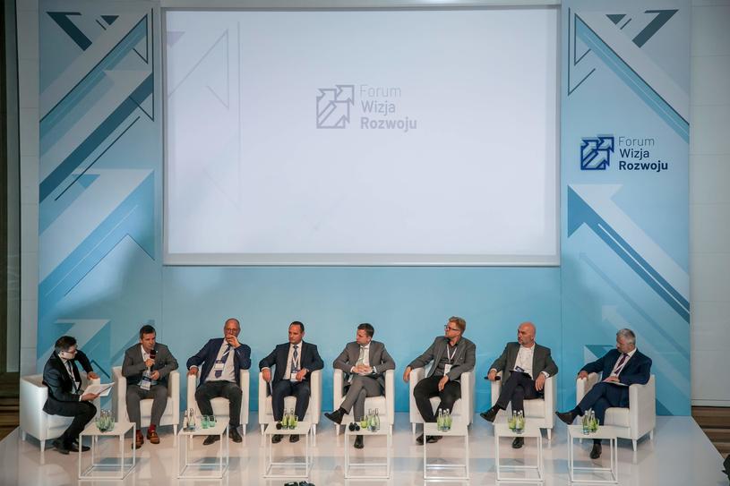 """Forum Wizja Rozwoju 2019, debata """"Komercjalizacja wyników badań"""" /INTERIA.PL"""