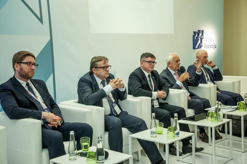Forum Wizja Rozwoju 2019, debata: Polityka Energetyczna Polski 2040 /INTERIA.PL
