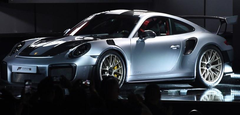 Forza Motorsport 7 - prezentacja modelu 911 GT2 RS podczas ujawnienia siódmej odsłony kultowej serii gry Microsoftu /AFP
