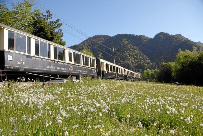 Fot. 1 Szwajcarski System Podróżowania: GoldenPass Classic. Copyright by: Swiss Travel System By-Line: swiss-image.ch/Oskar Enander /materiały promocyjne