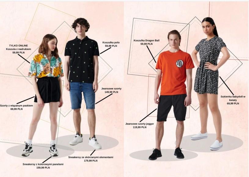 fot. gazetka promocyjna Cropp na stronie Ding.pl /ding.pl