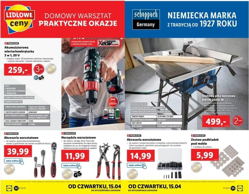 fot. gazetka promocyjna Lidl /ding.pl