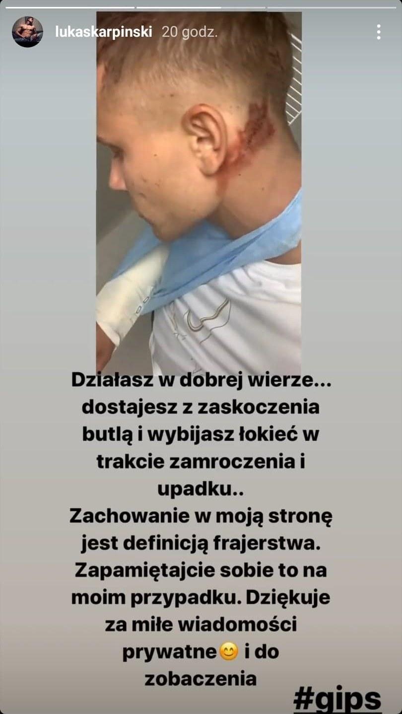 fot. Instagram/@lukaskarpinski /materiały prasowe