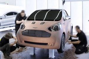 Fot. Internet. Aston Martin cygnet /