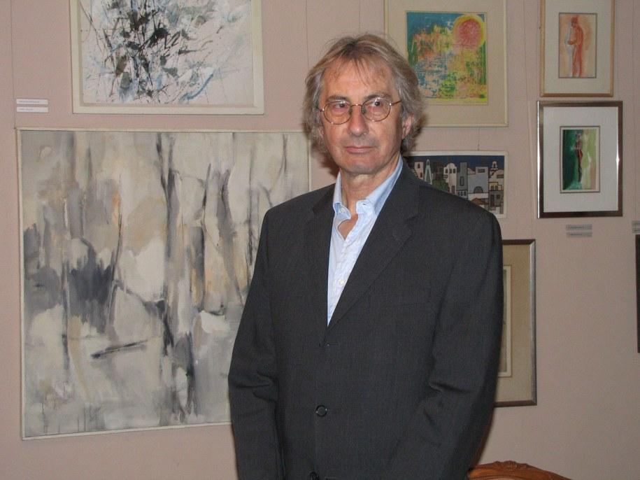 Fot. RMF FM; Multimilioner i kolekcjoner Krzysztof Musiał /RMF FM