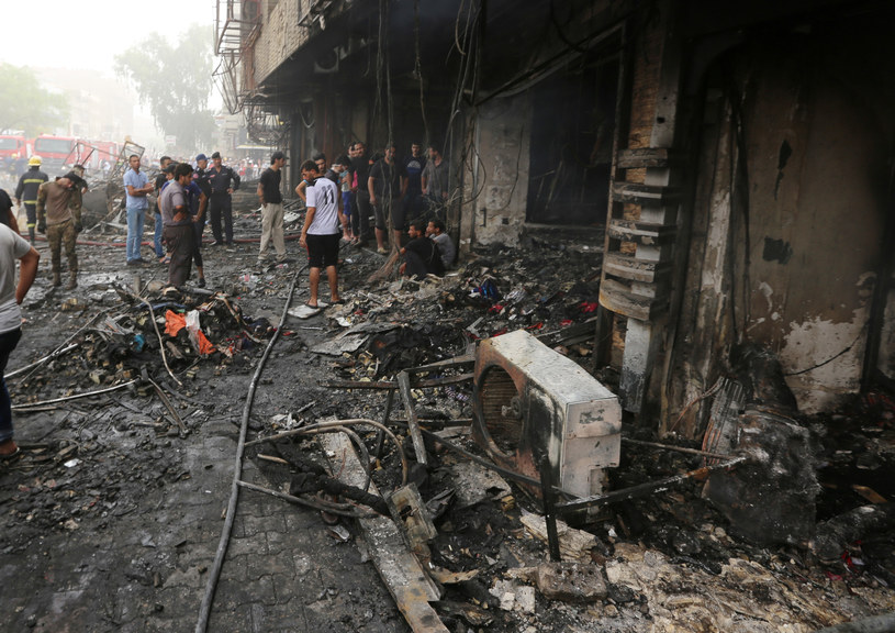 Fot. z miejsca, gdzie doszło do zamachu /AFP