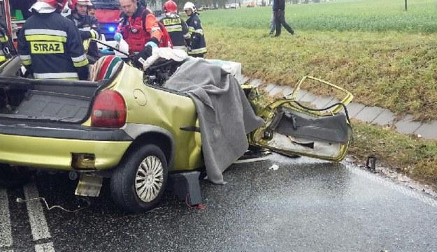 Fot. z miejsca zdarzenia /Policja