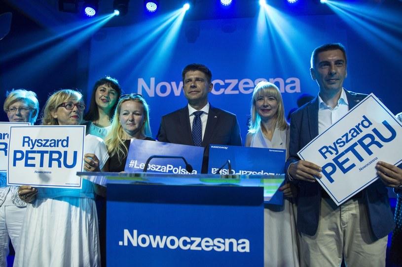 Fot. z pierwszych urodzin Nowoczesnej /Andrzej Hulimka  /Reporter
