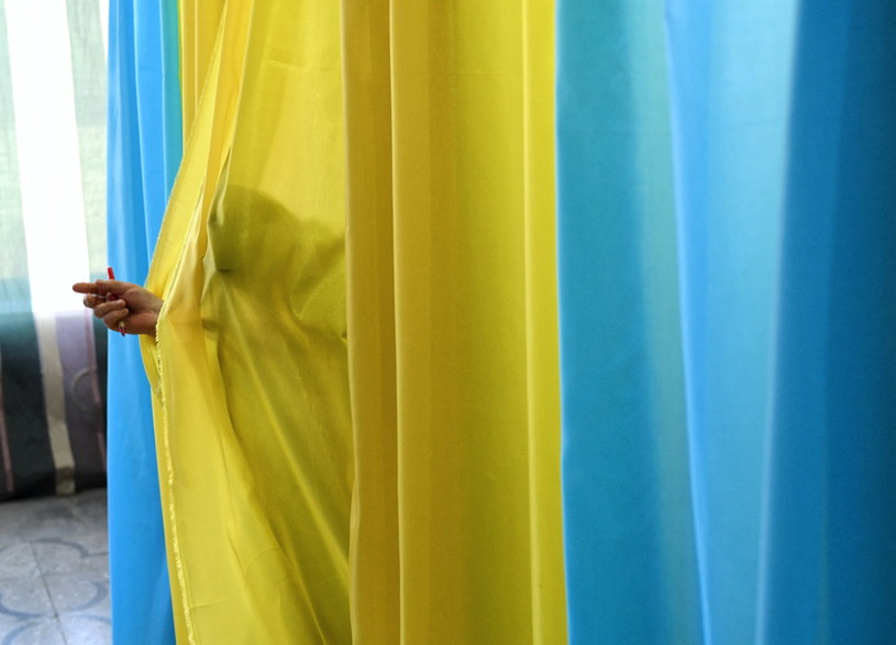 Fot. z wyborów na Ukrainie; zdj. ilustracyjne /Darek Delmanowicz /PAP