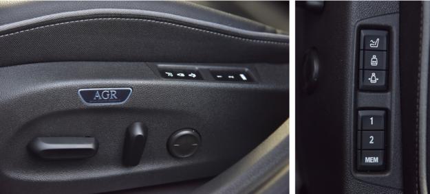 Fotel AGR za 1900 zł oferuje elektryczną regulację (także długości siedziska i szerokości oparcia), wentylację oraz masaż. /Motor