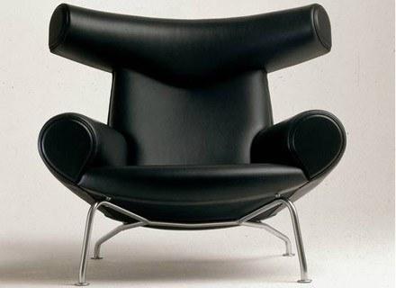Fotel Byk, proj. Hans J. Wegner, 1960 /Sztuka.pl