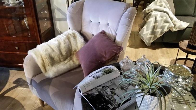 Fotel do czytania powinien mieć ergonomiczny kształt, zapewniający wygodne oparcie dla kręgosłupa /materiały prasowe