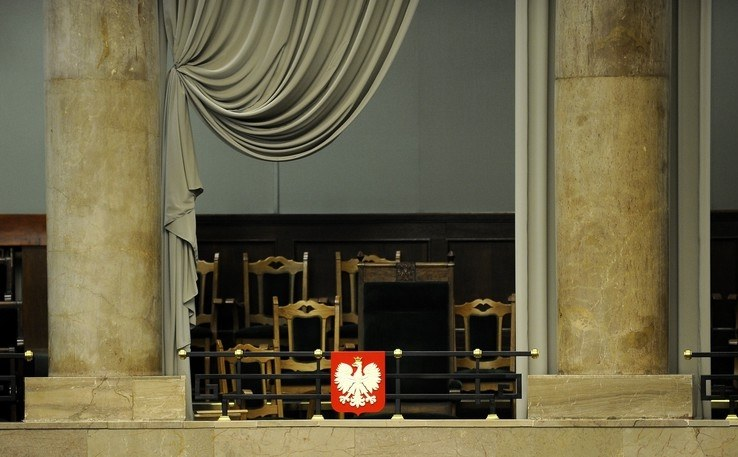 Fotel prezydenta w Sejmie /Michał Wargin /East News