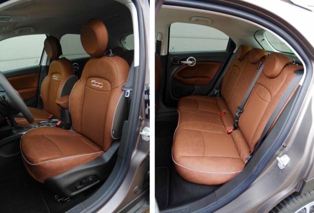 Fotele są wygodne. Skóra i elektryczna regulacja – w tym lędźwiowa – to opcje. Z tyłu wystarczy miejsca do komfortowej jazdy dla osób średniego wzrostu. /Motor