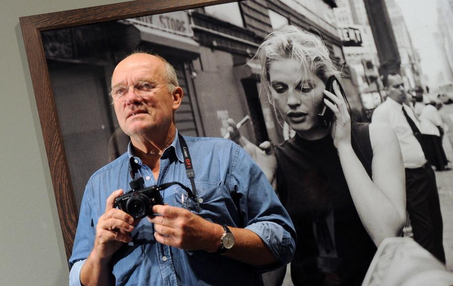 Fotograf Peter Lindbergh zmarł w wieku 74 lat / Tobias Kleinschmidt /PAP/EPA