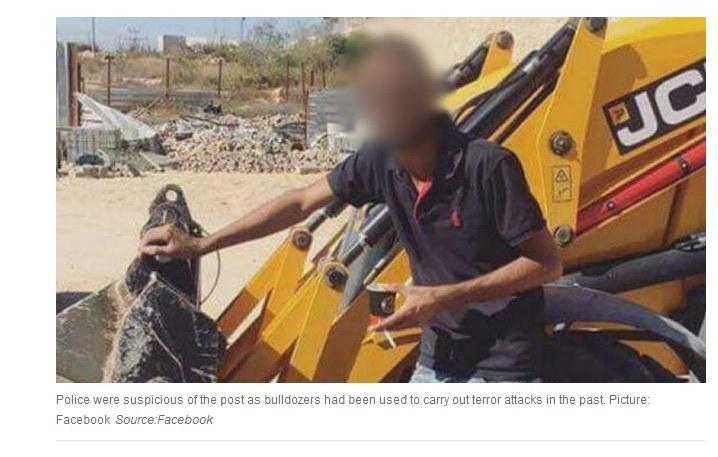 Fotografia, którą zamieścił Palestyńczyk /Facebook/ news.com.au /