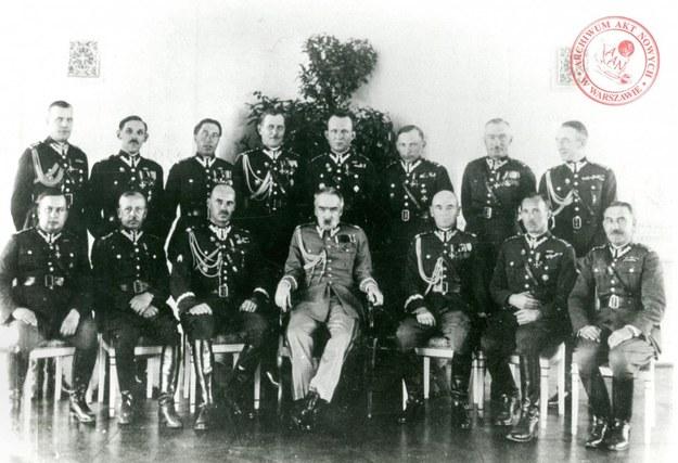 Fotografia wykonana podczas gry wojennej w Wilnie 5 maja 1934 roku /Archiwum Akt Nowych