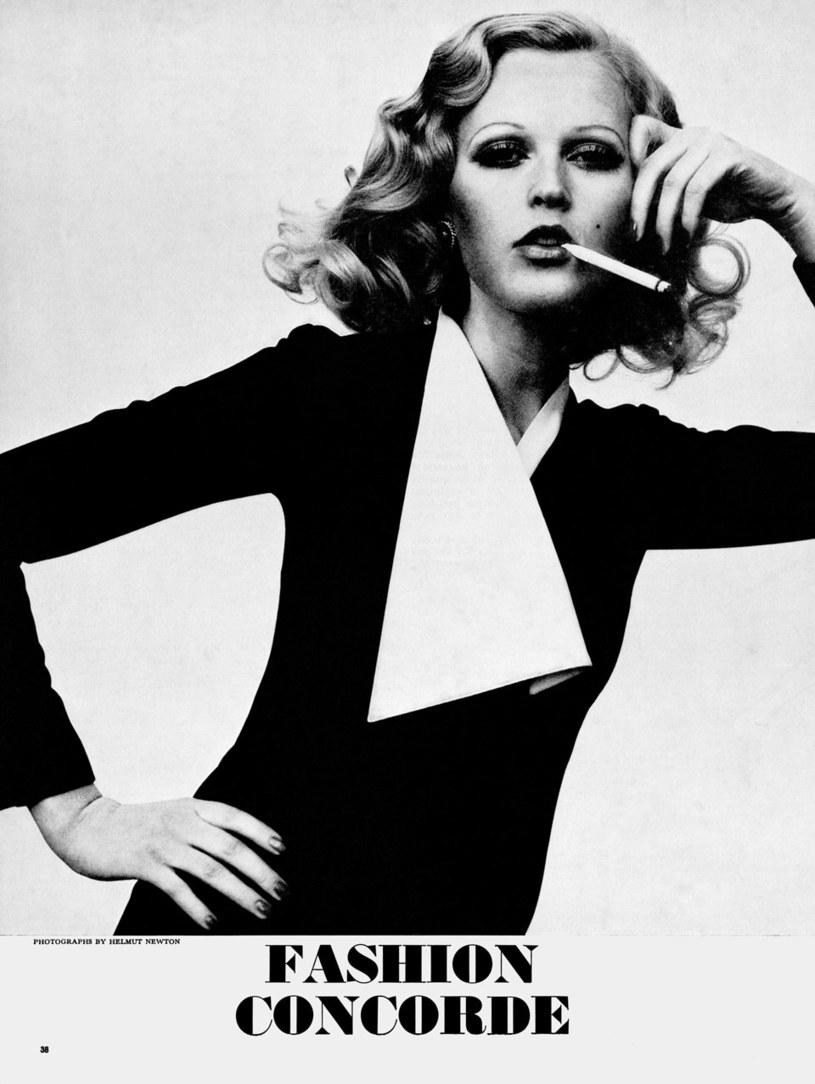 """Fotografia z albumu """"Helmut Newton. Pages from the Glossies"""" /materiały prasowe"""