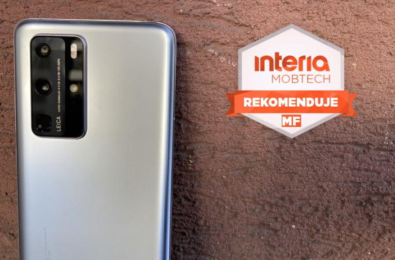 Fotograficzne  możliwości Huaweia P40 Pro sprawiły, że smartfon otrzymał Rekomendację Mobilnej Fotografii (MF) serwisu Interia Mobtech w kategorii doskonałego smartfonu do robienia zdjęć /INTERIA.PL