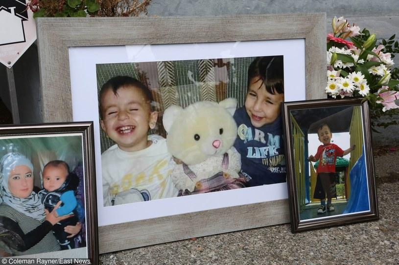 Fotografie przedstawiające Alana Kurdiego i jego brata, który również utonął podczas próby przedostania się do Europy /Coleman-Rayner /East News
