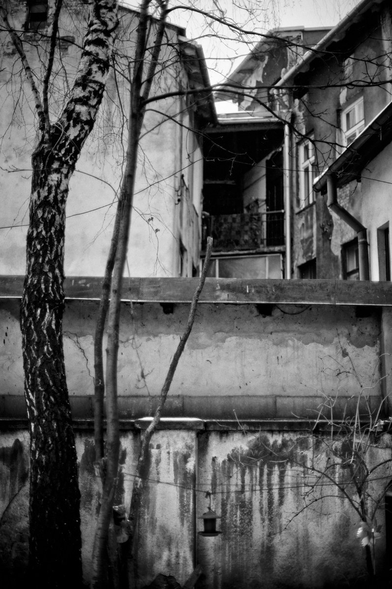 """Fotografuję na wstecznym biegu"" - pisze Bogdan Frymorgen /Bogdan Frymorgen /RMF FM"