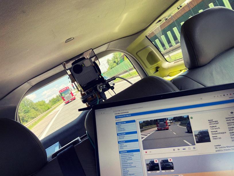 Fotorapid pro może być montowany w pojazdach /