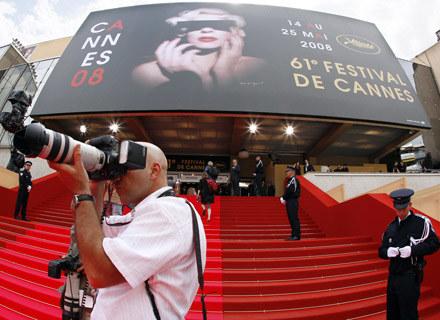 Fotoreporter obsługujący filmowy festiwal w Cannes /arch. AFP