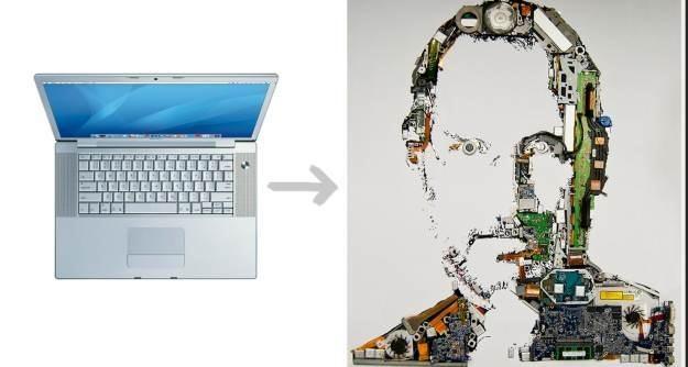 Foundry z Mint Digital i ich Jobs w wersji z komponentów MacBooka /gizmodo.pl