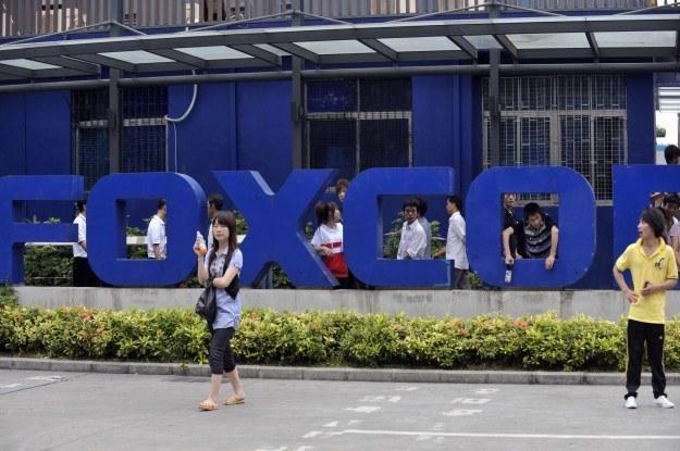 Foxconn to imię niewolnictwa XXI wieku? /AFP