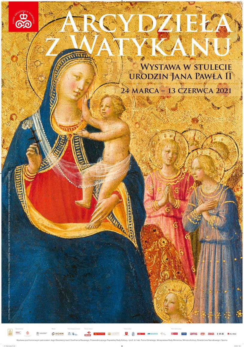 """Fra Angelico, """"Madonna z Dzieciątkiem i świętymi Dominikiem i Katarzyną Aleksandryjską"""", Muzea Watykańskie, Państwo Watykan (fragment) /materiały prasowe"""