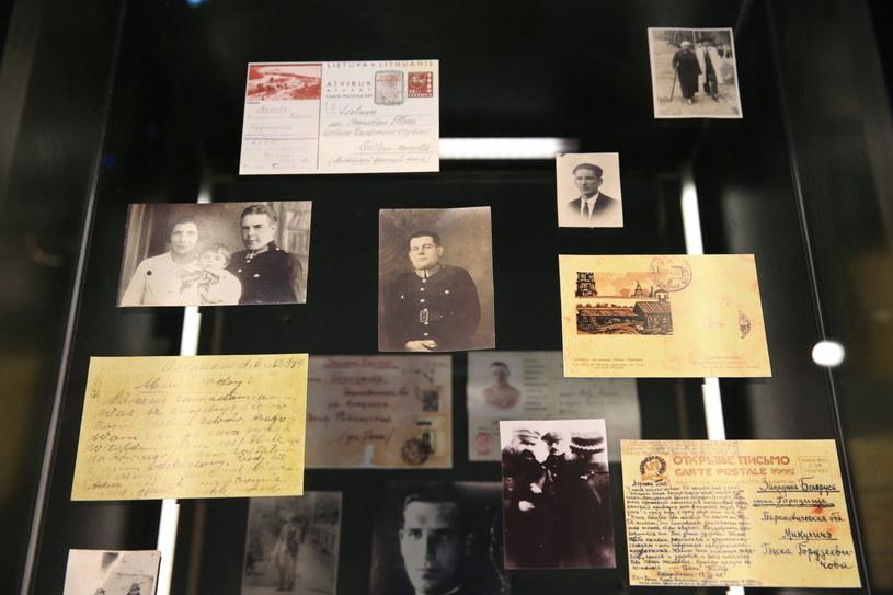 Fragment ekspozycji w Muzeum Katyńskim /Rafał Guz /PAP