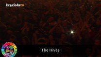 Fragment koncertu zespołu The Hives podczas 22 Przystanku Woodtsock