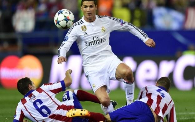 Fragment meczu Real Madryt vs Atletico Madryt /AFP