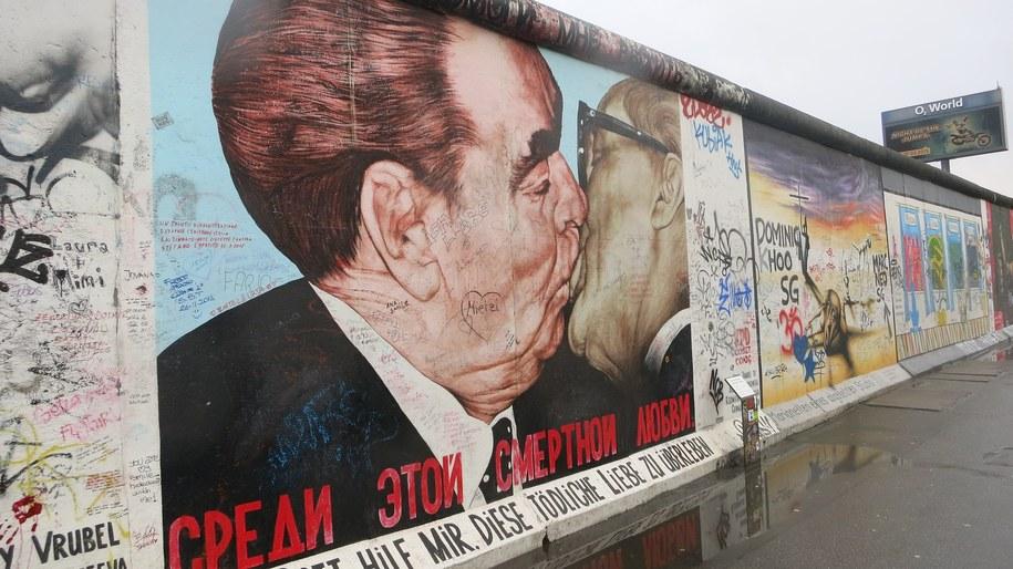 Fragment Muru Berlińskiego, jaki został zachowany w stolicy Niemiec /foto. pixabay /