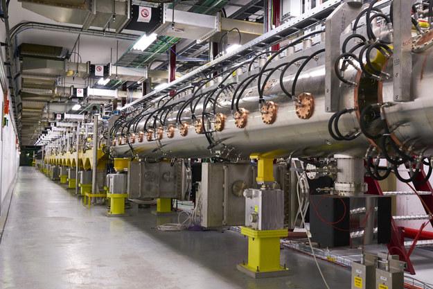 Fragment nowego akceleratora Linac 4 /CERN /Materiały prasowe