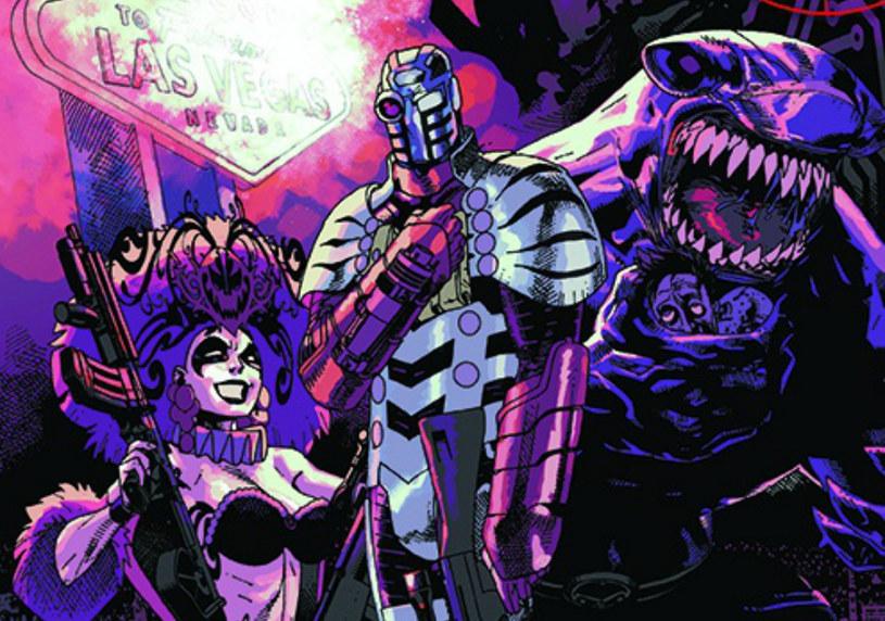 Fragment okładki komiksu Suicide Squad Oddział Samobójców /materiały prasowe