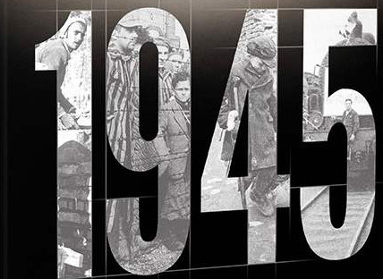 """Fragment okładki książki """"1945. Wojna i pokój"""" /materiały prasowe"""