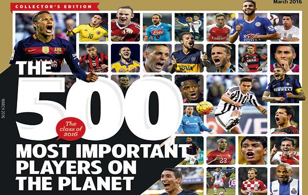 "Fragment okładki magazynu ""World Soccer"" /INTERIA.PL"