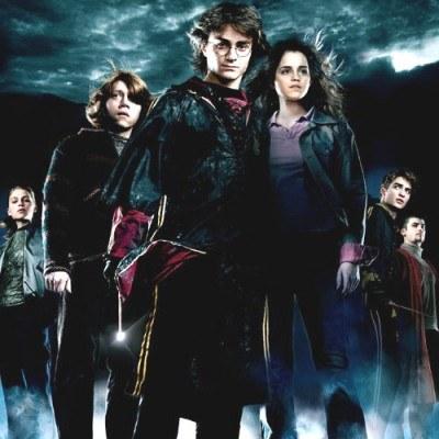 "Fragment plakatu nowego""Harry'ego Pottera"" /"