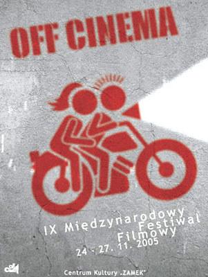 """Fragment plakatu tegorocznej edycji """"Off Cinema"""". /"""