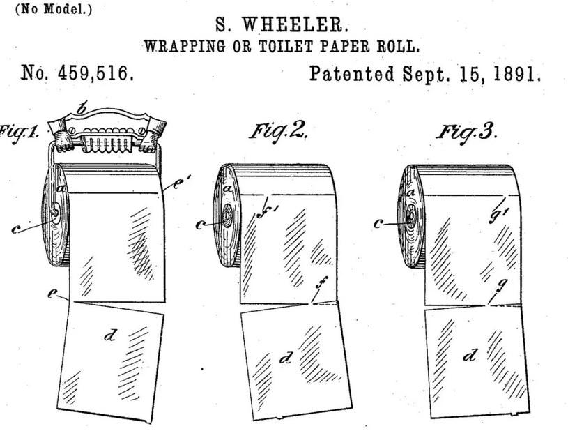 Fragment wniosku patentowego Setha Wheelera /domena publiczna