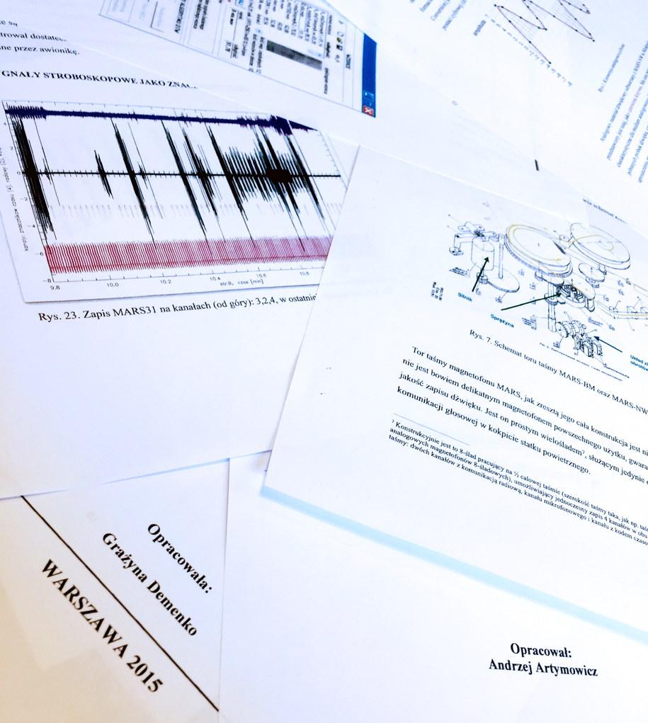 Fragmenty dokumentów opublikowanych przez NPW /Maciej Chmiel /PAP