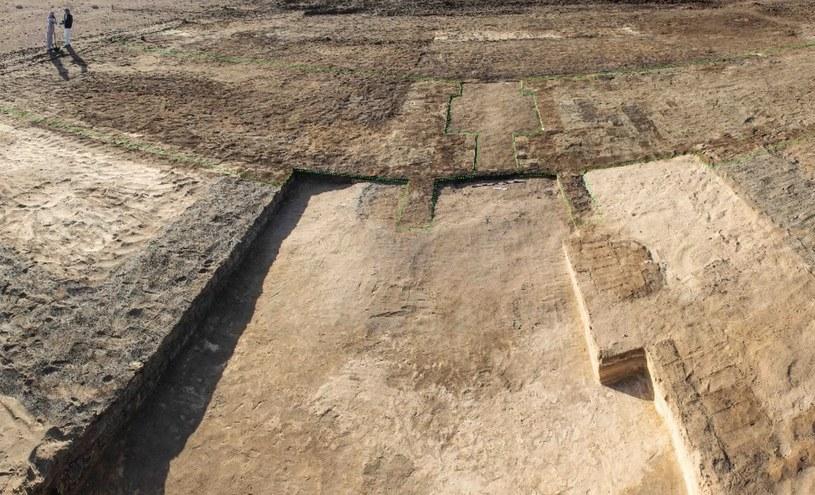 Fragmenty twierdzy odnalezione w Egipcie /materiały prasowe