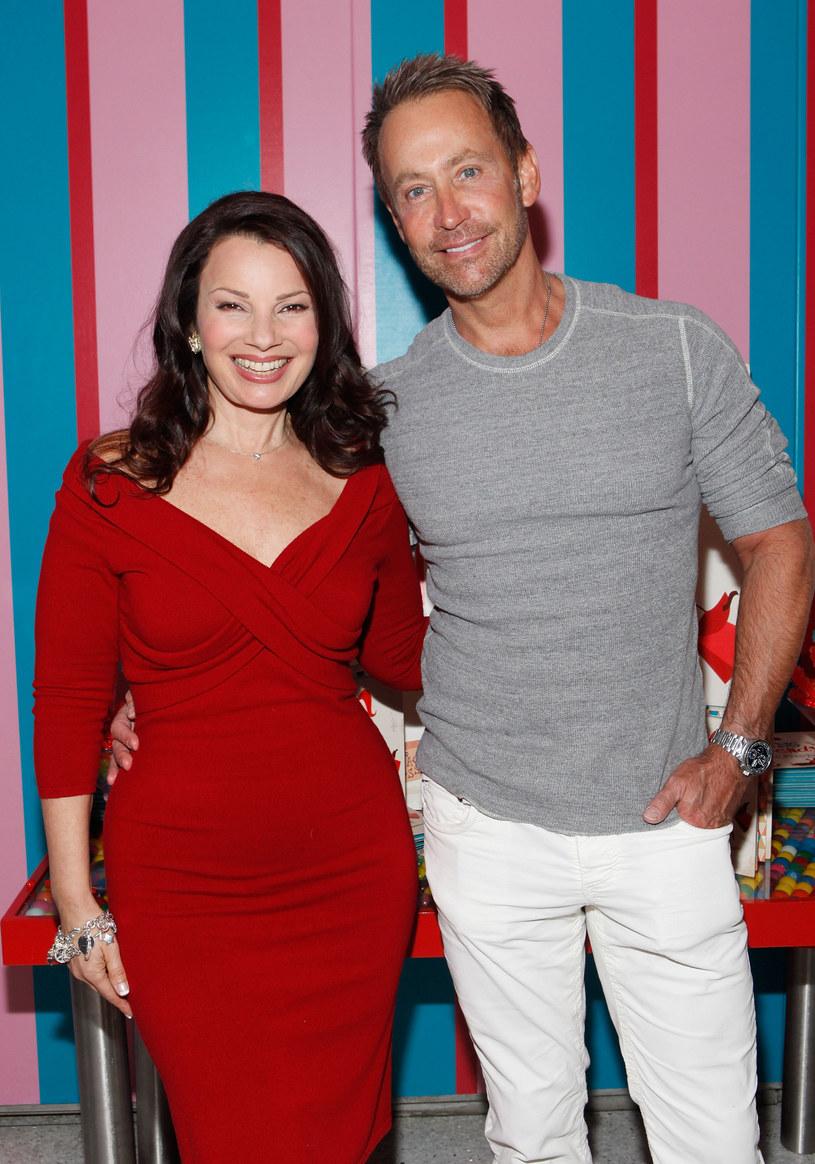 """Fran z byłym mężem Peterem Markiem Jacobsonem - tym, który rzekomo """"też widział kosmitów"""". /Getty Images"""