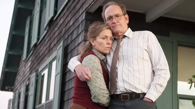 """Frances McDormand i Richard Jenkins w scenie z miniserialu """"Olive Kitteridge"""" /materiały prasowe"""