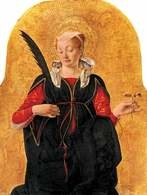 Francesco del Cossa, Św. Łucja, po 1470 /Encyklopedia Internautica