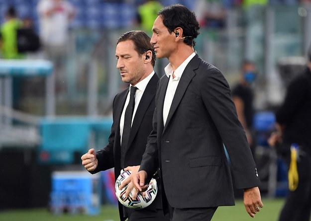 Francesco Totti i Alessandro Nesta /Alberto Lingria / POOL /PAP/EPA