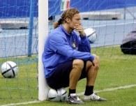 Francesco Totti ma o czym myśleć... /AFP