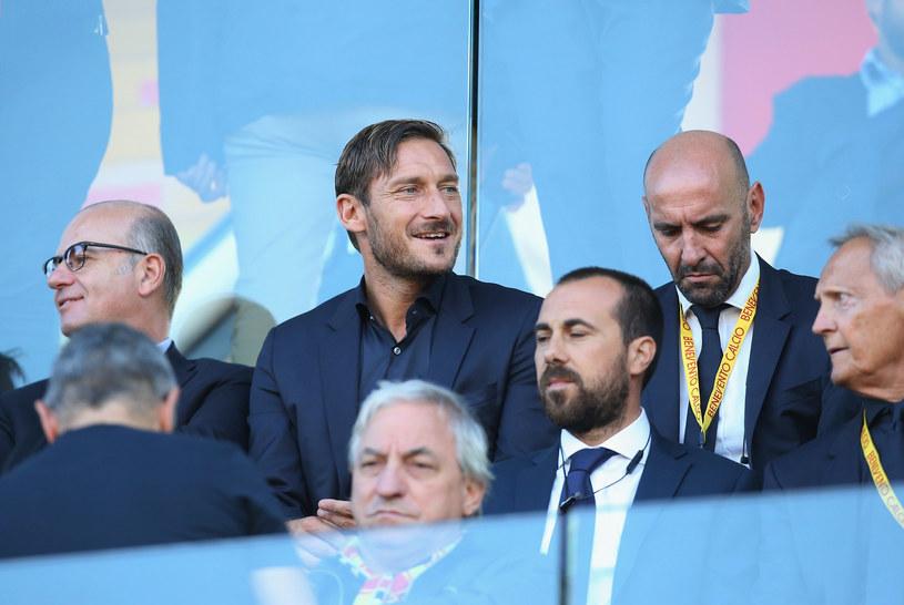 Francesco Totti (w środku) /Maurizio Lagana /Getty Images